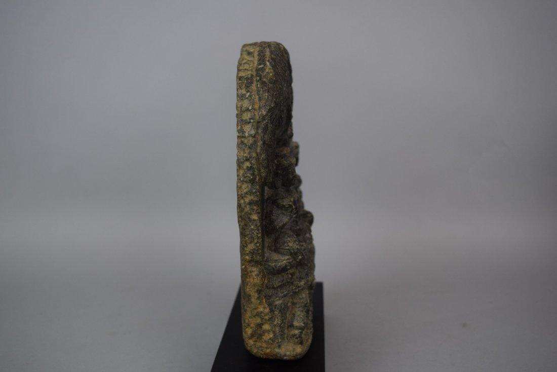 Gandharan sculpture. Grey shist. 1c BC -2nd AD. Scene - 8