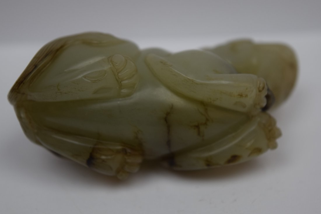 Jade paperweight. China. 19th century. Stone of a grey - 7