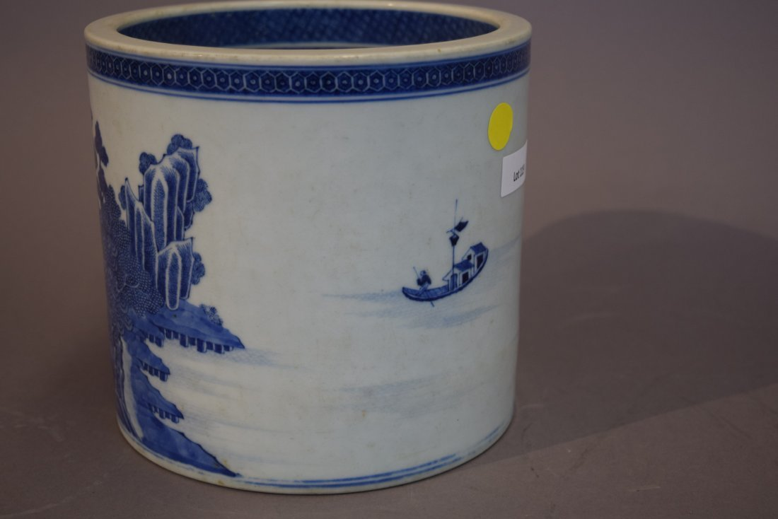 Porcelain wine cooler. Chinese Export ware. Circa 1800. - 2