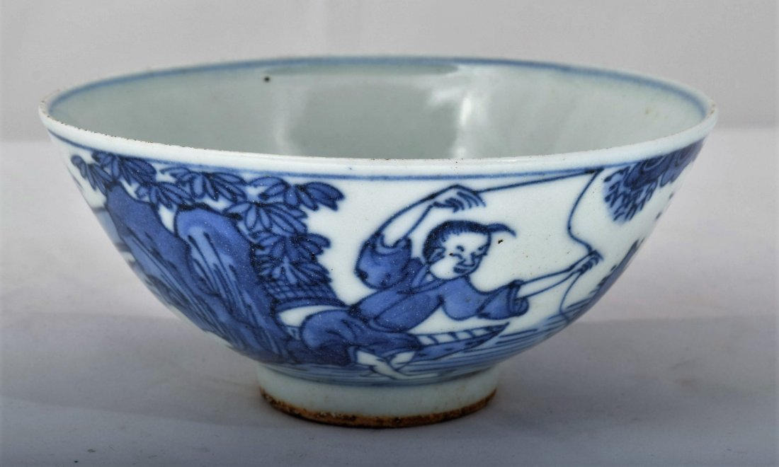 Porcelain bowl. China. Ming Period. 17th century.