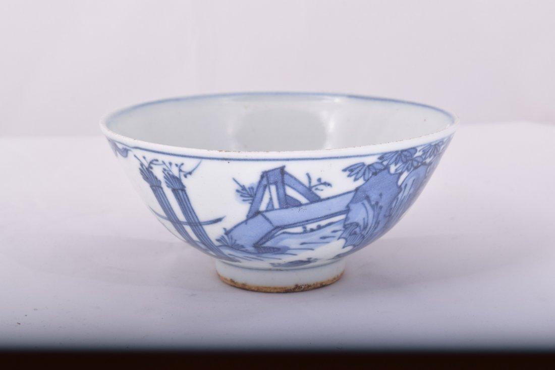 Porcelain bowl. China. Ming Period. 17th century. - 2