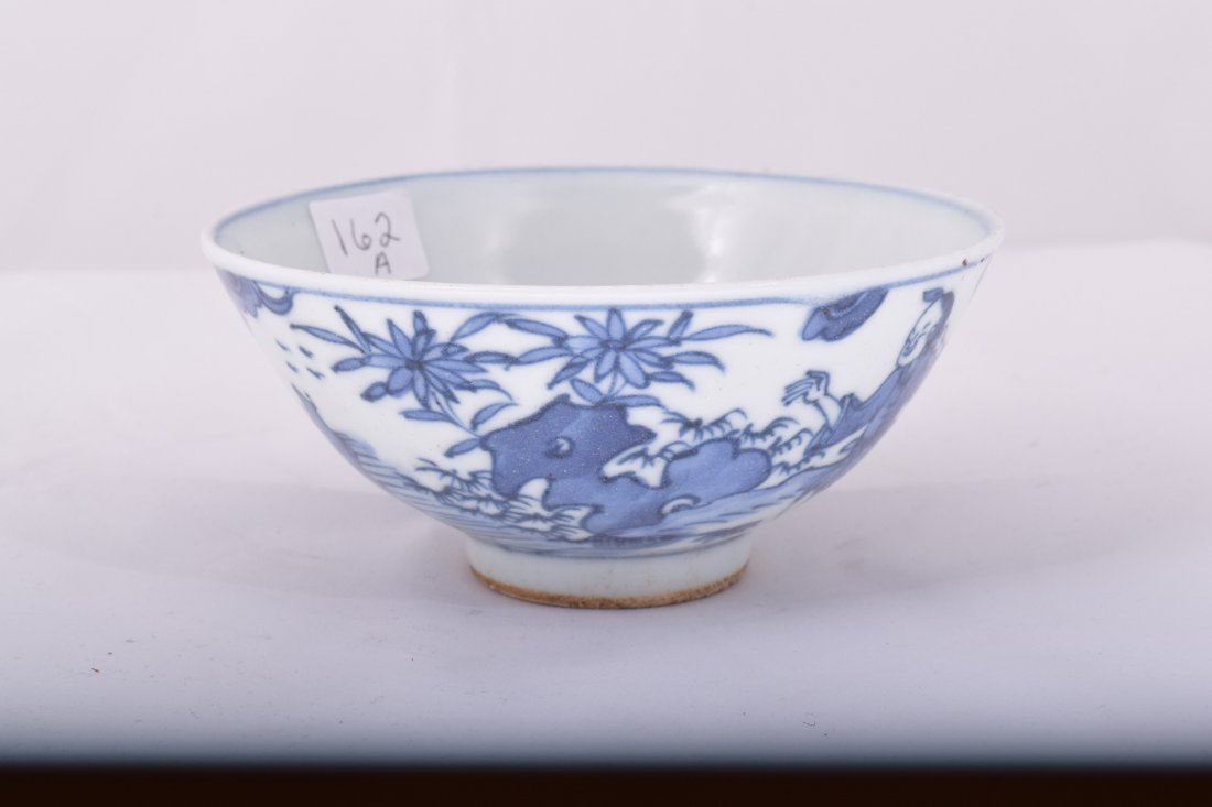 Porcelain bowl. China. Ming Period. 17th century. - 4
