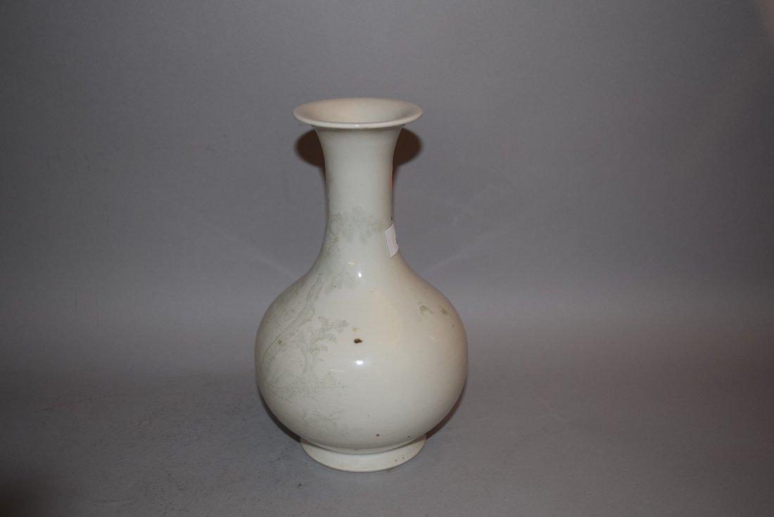 Porcelain vase. China. 18th/19th century. Bottle - 2