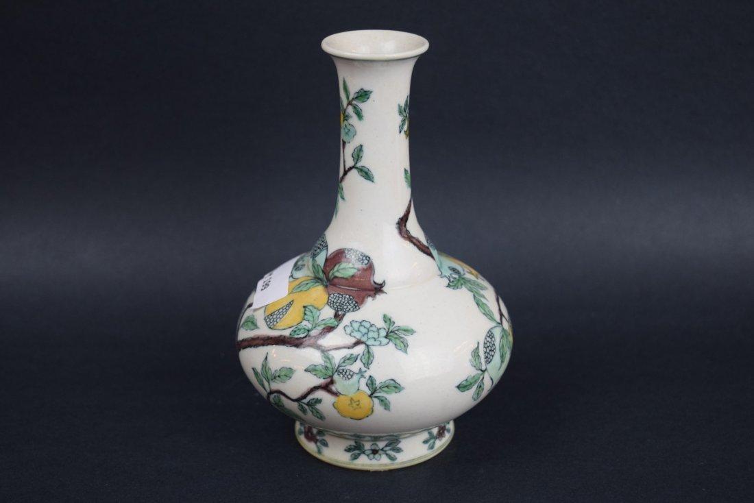 Porcelain vase. China. Late 19th century. Bottle - 2