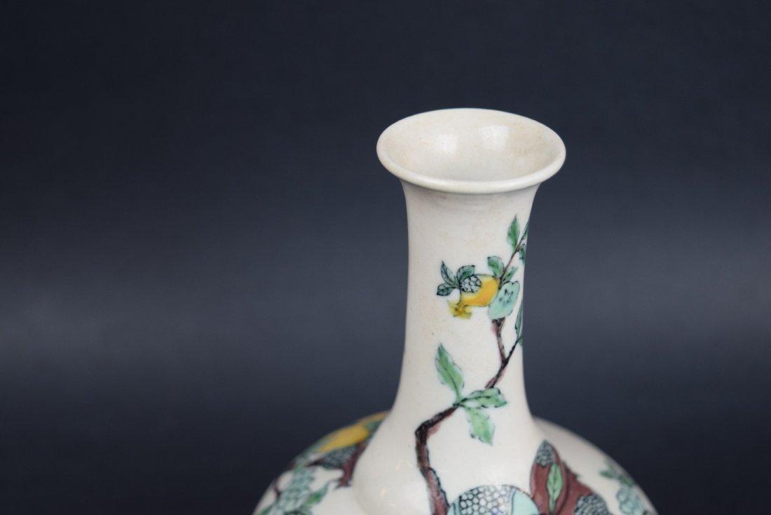 Porcelain vase. China. Late 19th century. Bottle - 4