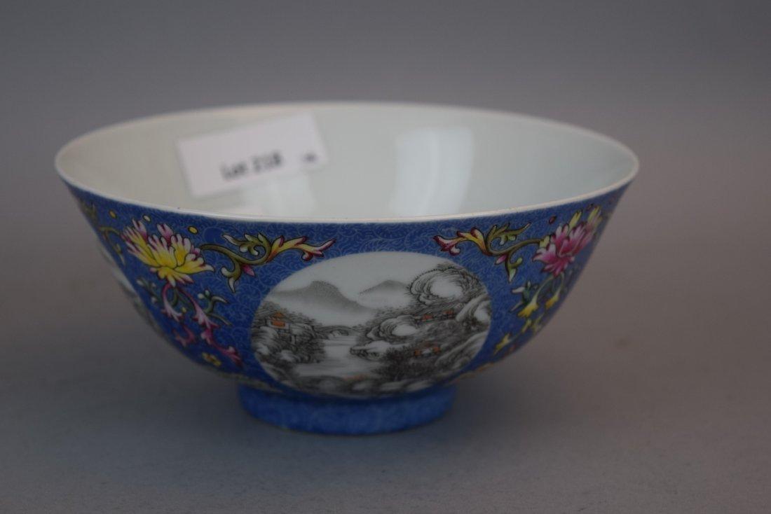 Pair of porcelain bowls. China. 20th century. Scraffeto - 2