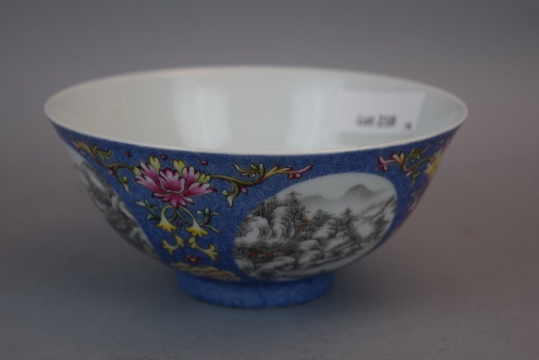 Pair of porcelain bowls. China. 20th century. Scraffeto - 3