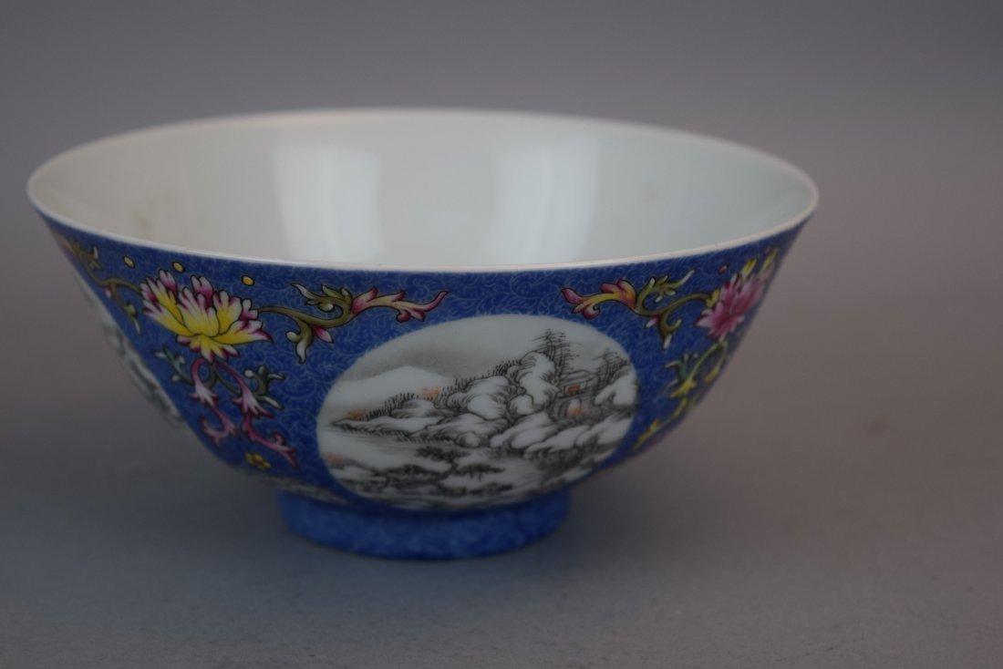 Pair of porcelain bowls. China. 20th century. Scraffeto - 4