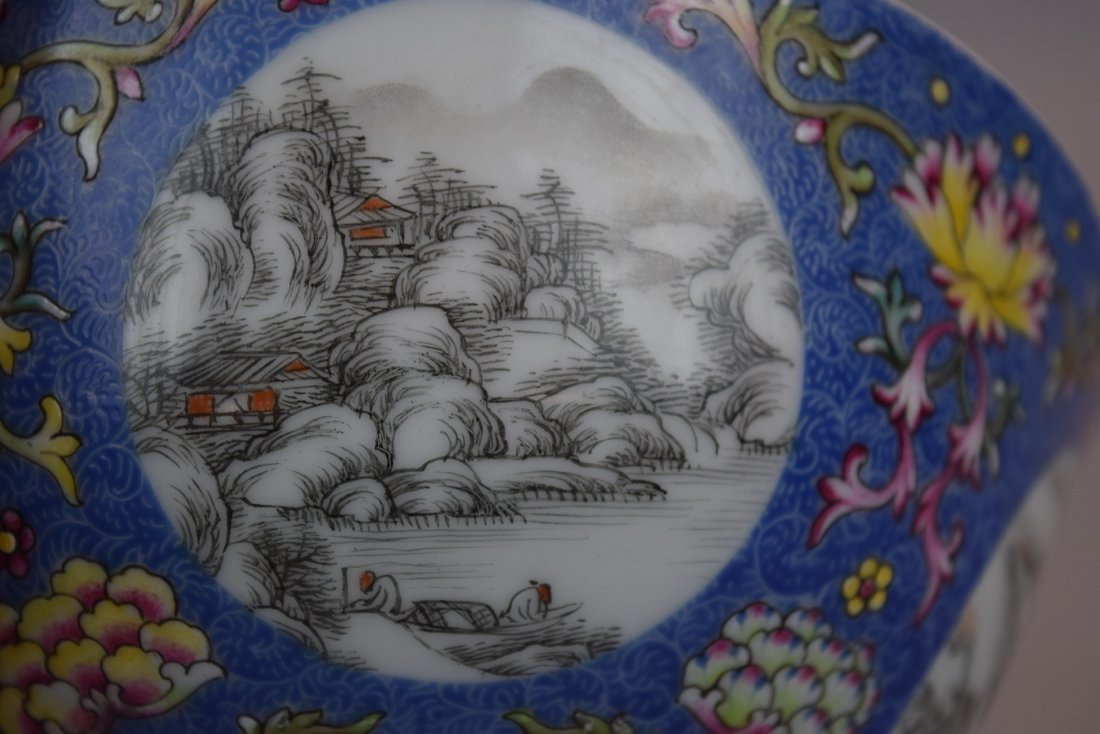 Pair of porcelain bowls. China. 20th century. Scraffeto - 7
