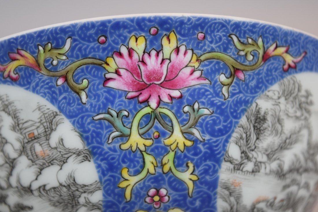 Pair of porcelain bowls. China. 20th century. Scraffeto - 8