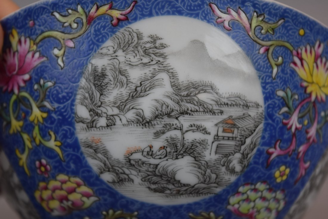 Pair of porcelain bowls. China. 20th century. Scraffeto - 9