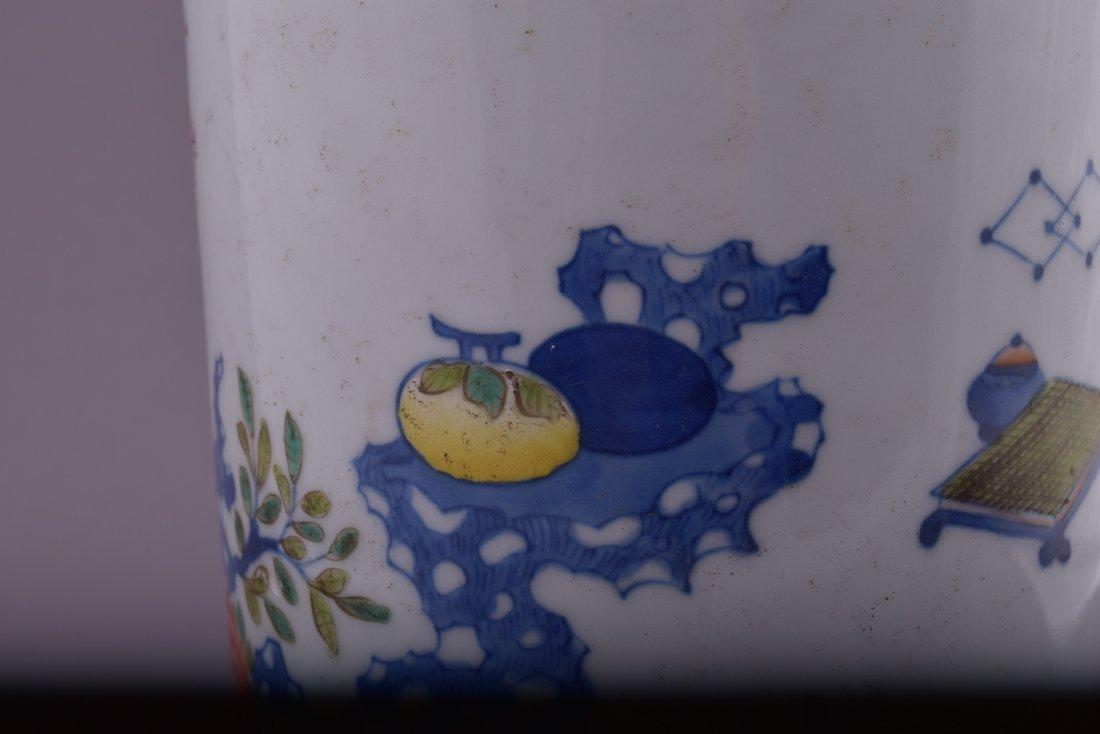 Porcelain vase. China. Kuang Hsu mark and possibly of - 10