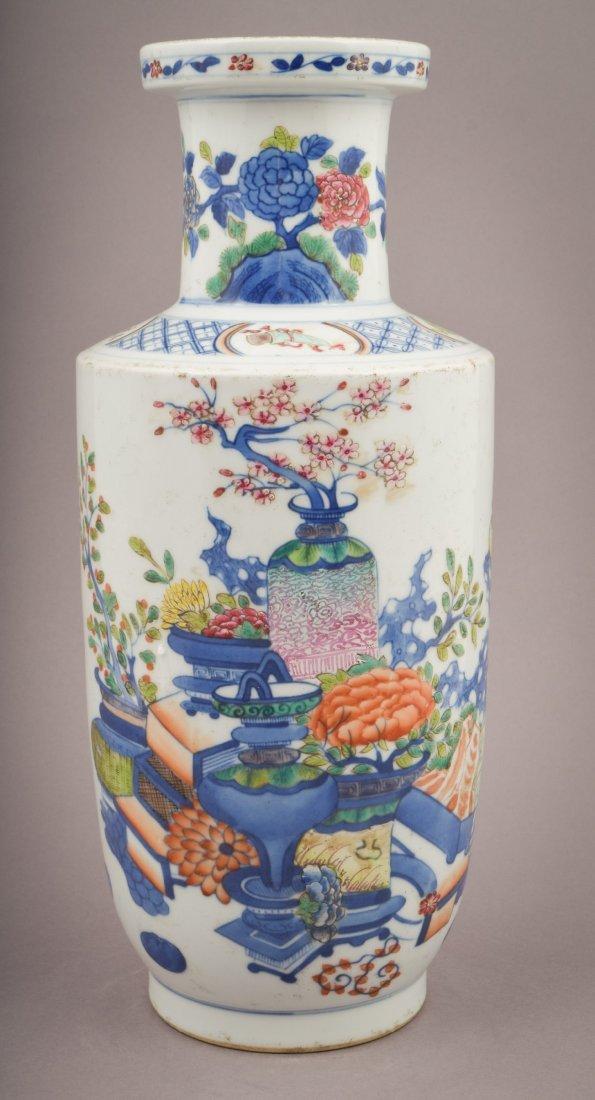 Porcelain vase. China. Kuang Hsu mark and possibly of