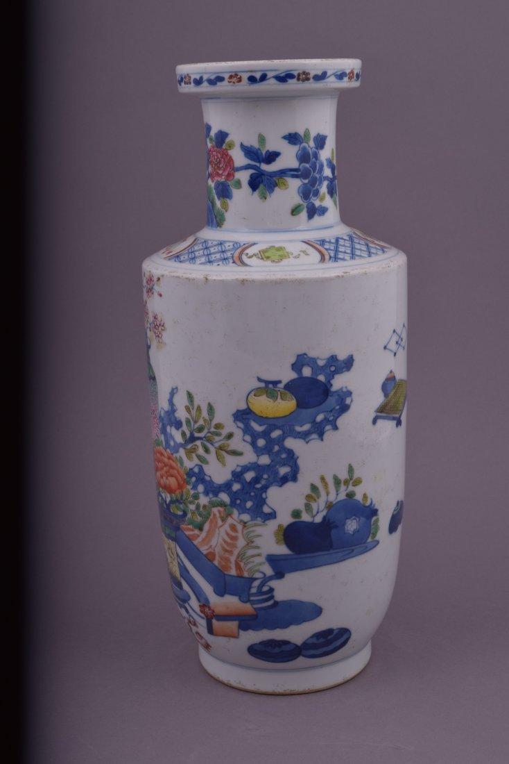 Porcelain vase. China. Kuang Hsu mark and possibly of - 2