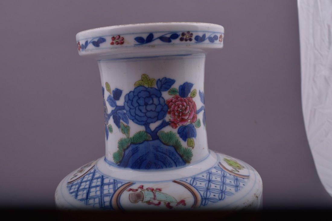 Porcelain vase. China. Kuang Hsu mark and possibly of - 9