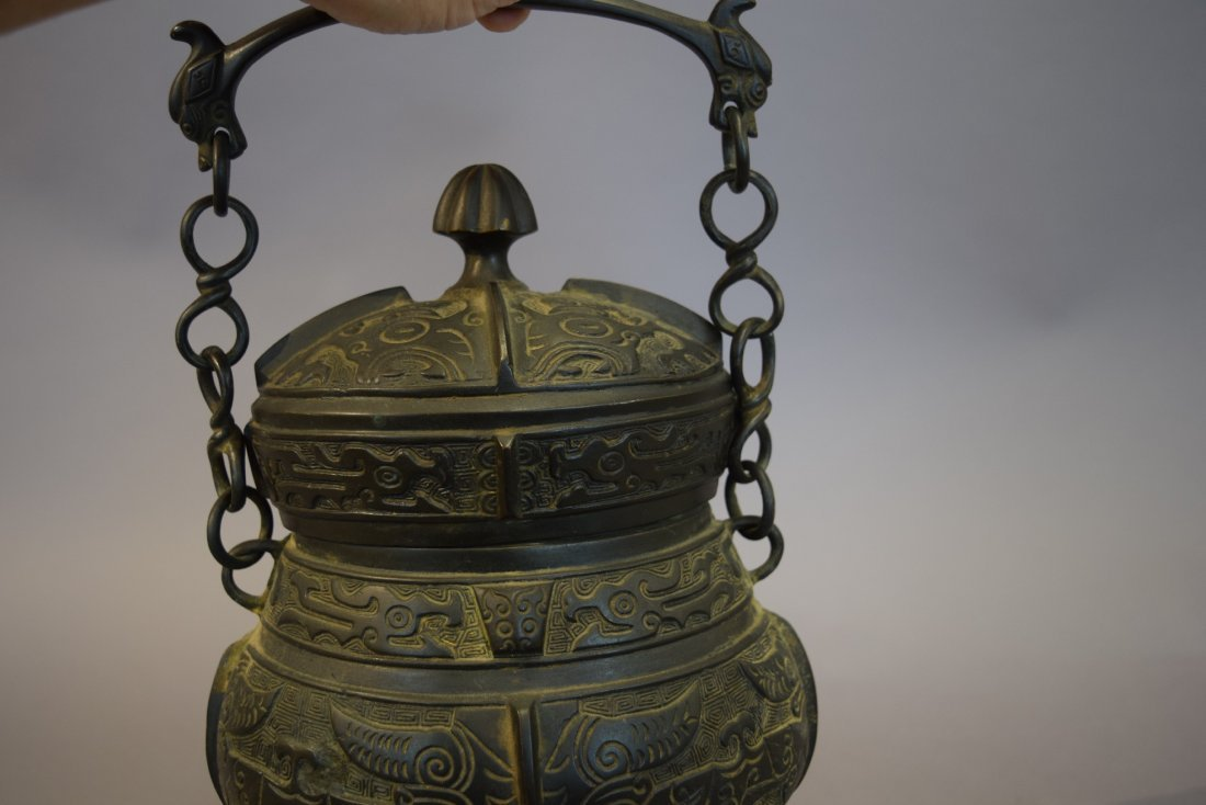Archaic style bronze vessel. China. Late 19th-early - 5