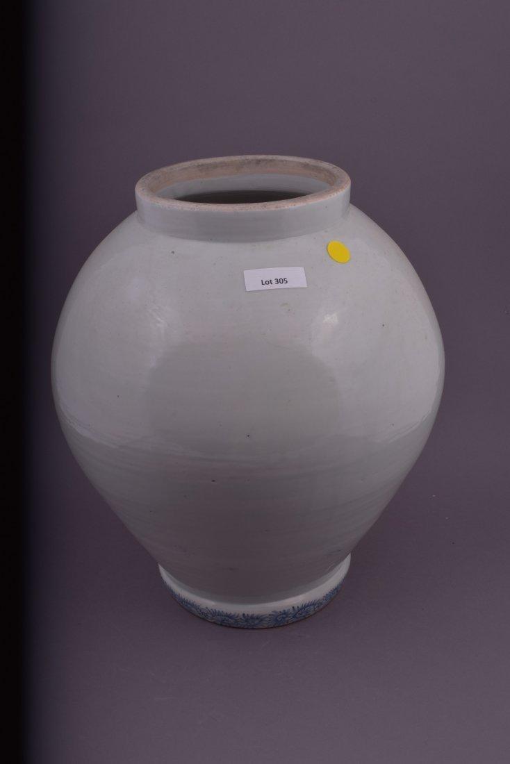 Large porcelain jar. Japan. 19th century. Arita Ware. - 2