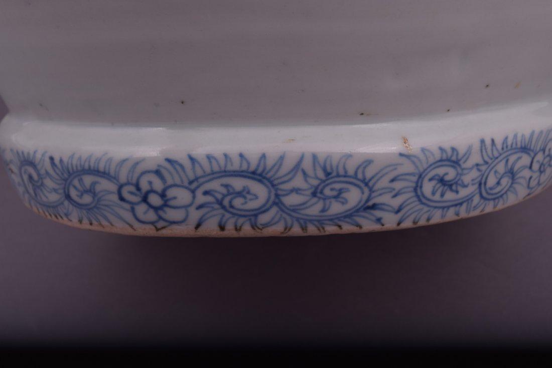 Large porcelain jar. Japan. 19th century. Arita Ware. - 5
