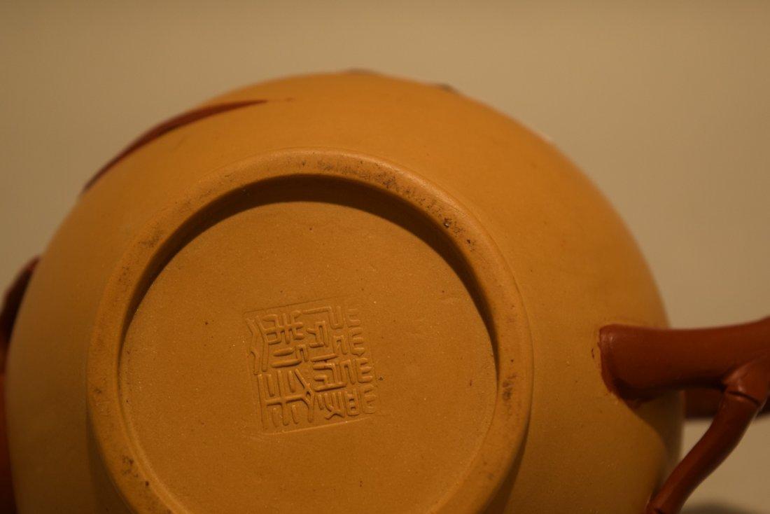 Two stoneware teapots. South China. 20th century. Yi - 10