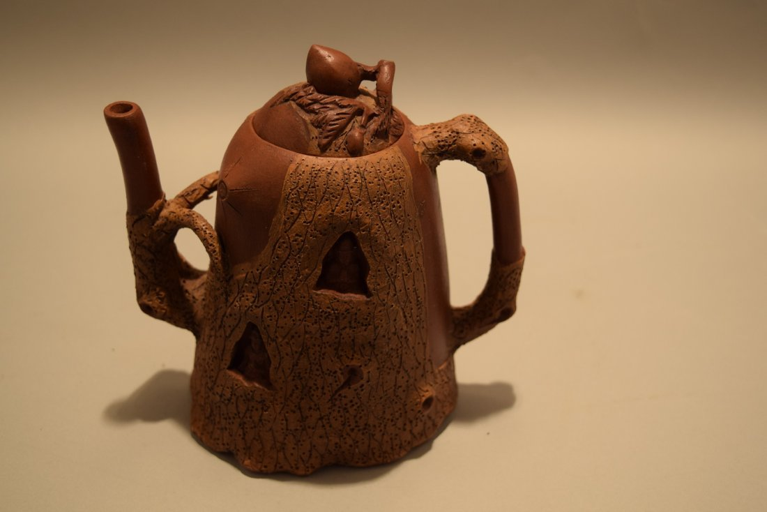 Two stoneware teapots. South China. 20th century. Yi - 2
