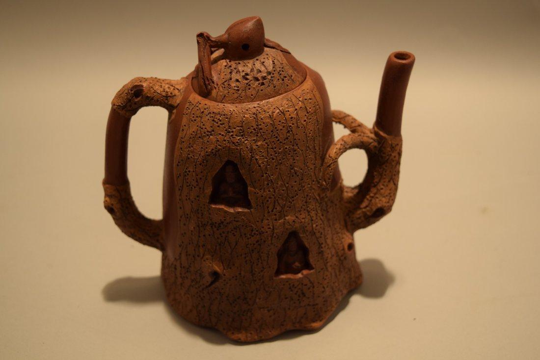 Two stoneware teapots. South China. 20th century. Yi - 4