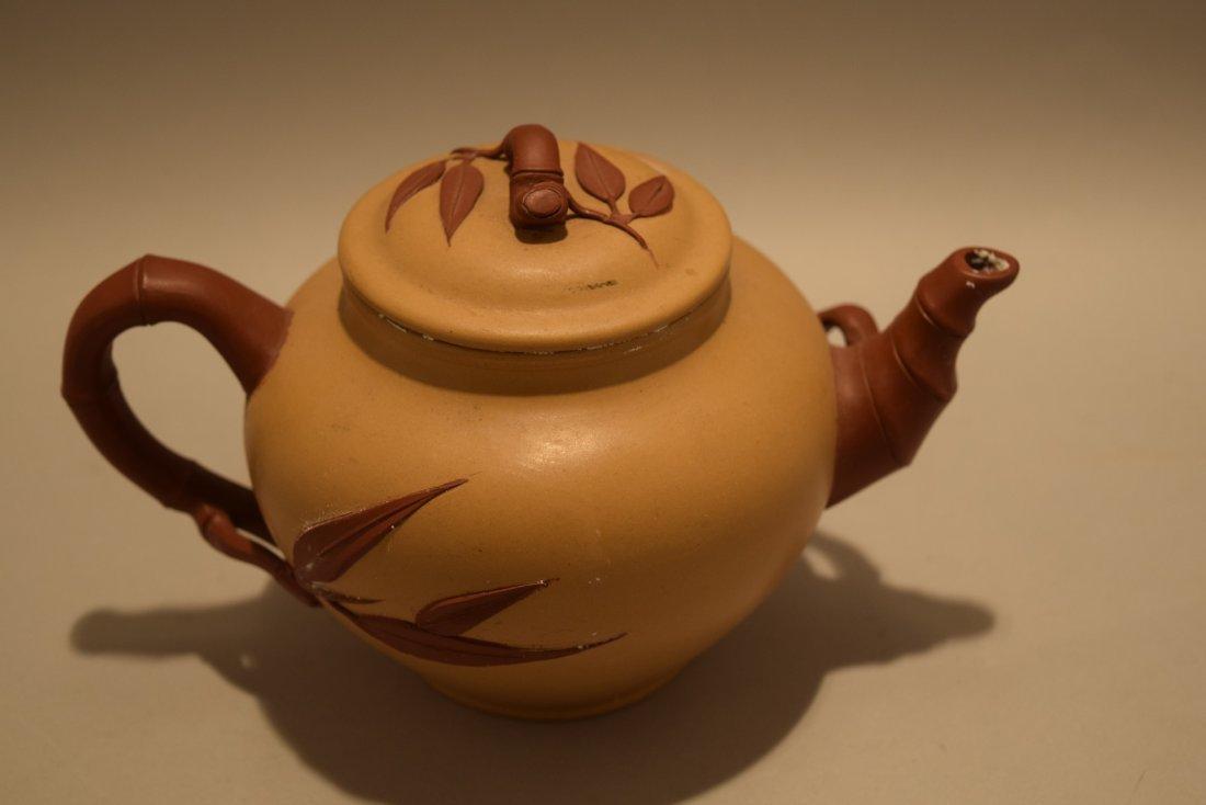 Two stoneware teapots. South China. 20th century. Yi - 7