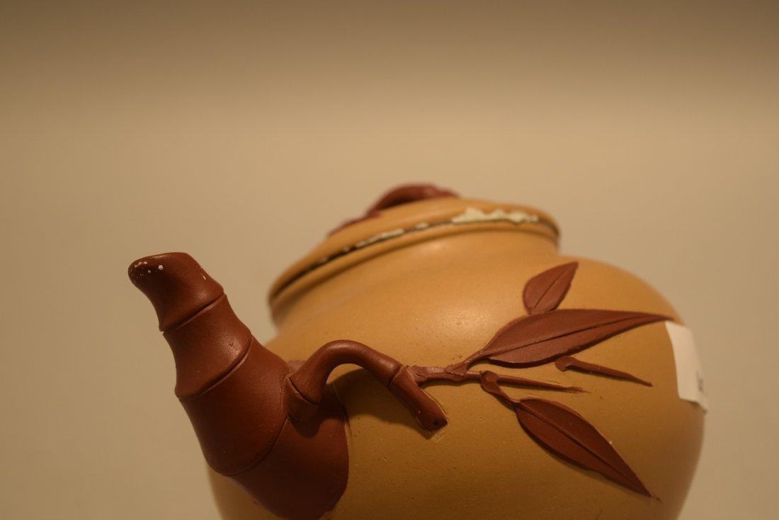 Two stoneware teapots. South China. 20th century. Yi - 9