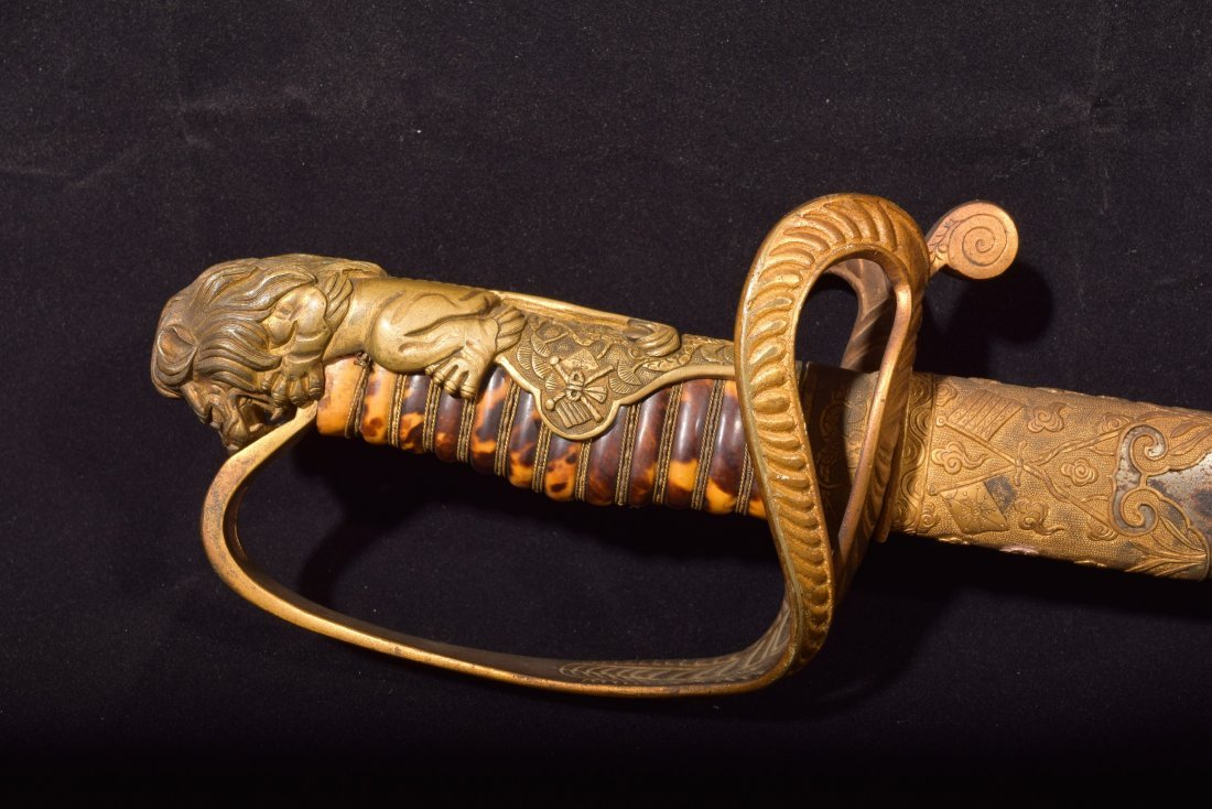 Chinese Officers sword. Early Republican Period. Before - 3
