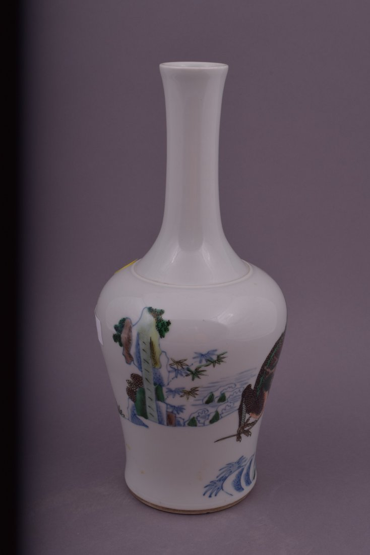 Porcelain vase. China. Late 19th century. Bottle - 2