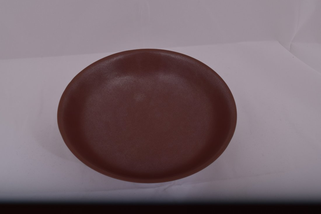 Chinese Iron Rust glaze footed bowl with ring - 3
