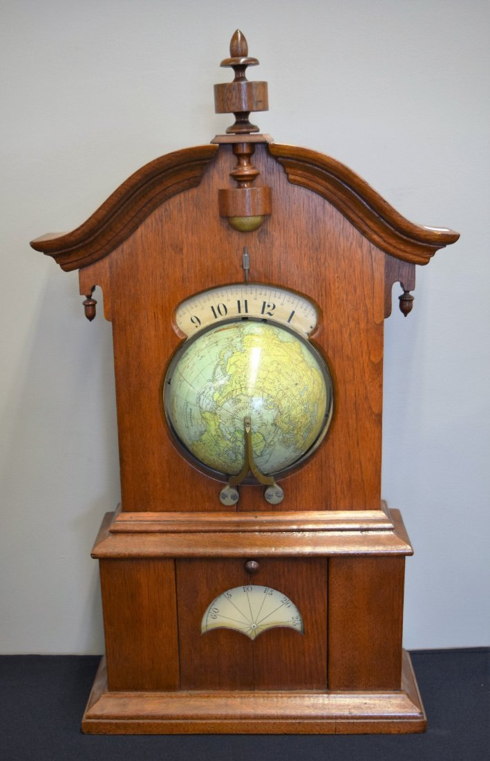Tinby solar clock. Good condition. Lower (minute) dial