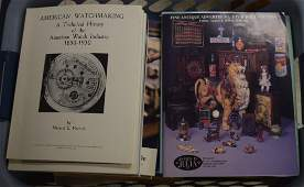 Box of Books and Catalogs and Catalog reprints Mostly