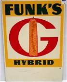 121: VINTAGE FUNK'S HYBRID ADVERTISING SIGN