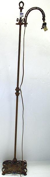 624: ORNATE VICTORIAN FLOOR LAMP