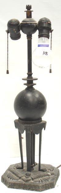 118: ART DECO STYLE LAMP