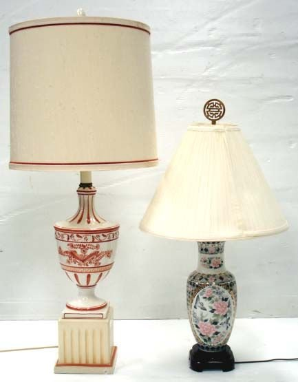 705: 2 CONTEMPORARY LAMPS