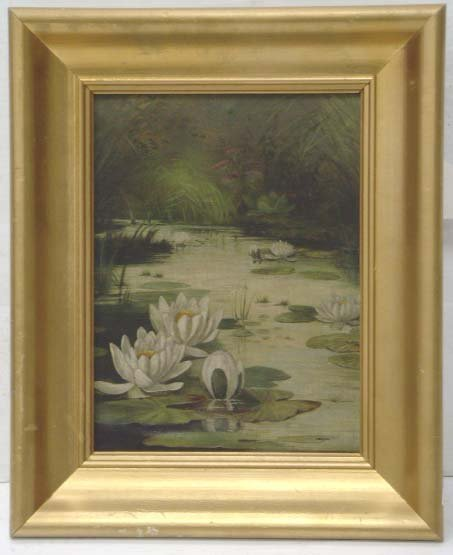 102: SHAFER, SP.P - SIGNED OIL ON BOARD 9 X 12