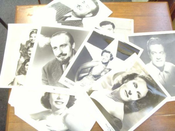 153: 1950'S RECORDING ARTIST PHOTOS MITCH MILLER PEREZ