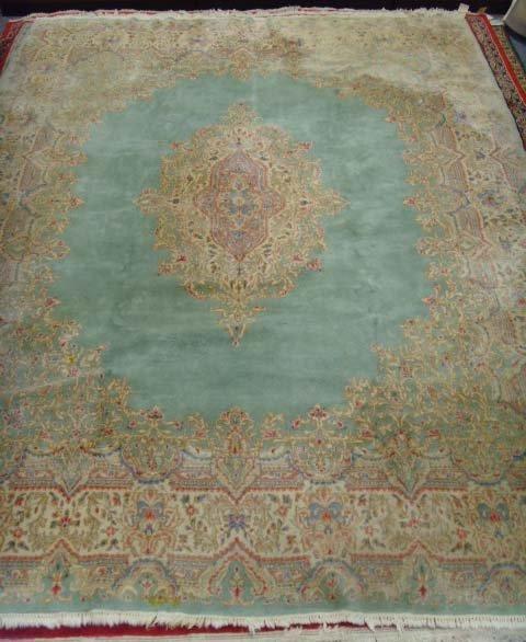 860: ANTIQUE HANDMADE PERSIAN RUG 9 X 12