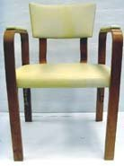 626: THONET BENTWOOD ARMCHAIR SET - 5PCS WITH ORIGINAL  - 2