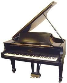 810: STEINWAY EBONIZED BABY GRAND PIANO L MODEL #259957