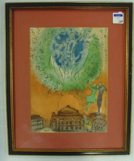 122: PICASSO ATTR.. - LITHO - UNSIGNED - 11 X 15
