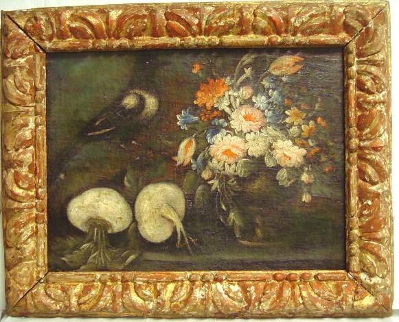 1011: 18/19TH C. ITALIAN STILL LIFE OIL PAINTING