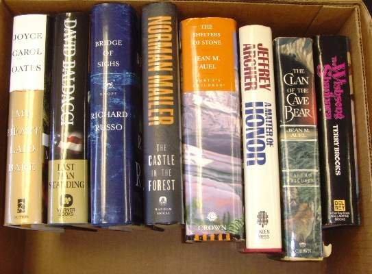 2010: BOX LOT BOOKS MODERN 1ST FIRST EDITIONS