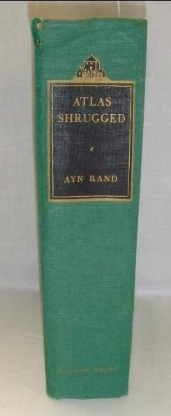 2011: RAND, AYN ATLAS SHRUGGED 1ST PRINTING COPYRIGHT 1