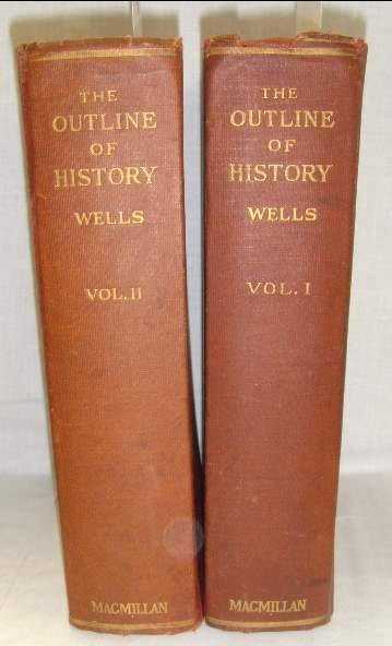 2012: H.G. WELLS THE OUTLINE OF HISTORY VOL I & II MACM