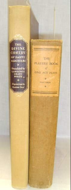 2013: LOT (2) THE PLAYERS' BOOK OF ONE ACT PLAYS & DIVI