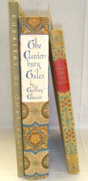 2014: LOT (3)ILLUSTRATED BOOKS RUBAIYAT CANTERBURY GEOR