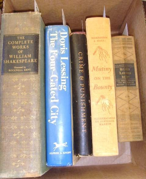 2015: BOX LOT OLDER SOME ILLUSTRATED BOOKS; COMPLETE WO