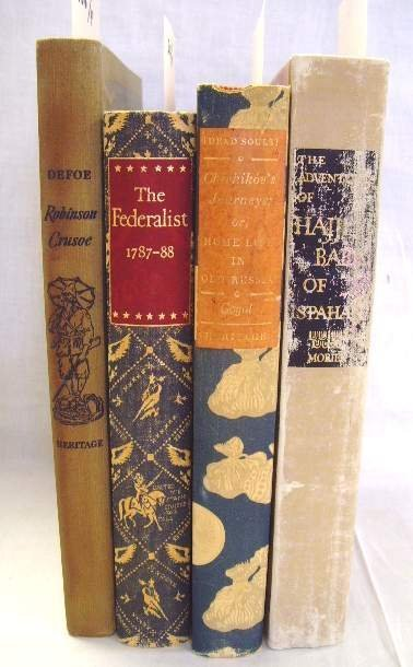 2016: LOT (4) BOOKS SPECIAL LIMITED EDITIONS SOME ILLUS